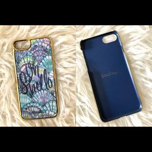 Lilly Pulitzer iPhone 7 / 8 Blue Oh Shello Case
